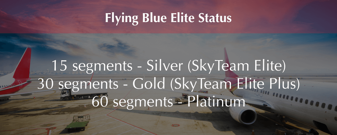 Flying Blue Elite Status