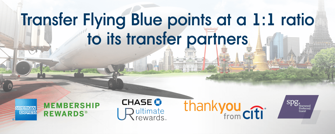 Flying Blue Transfer Partners