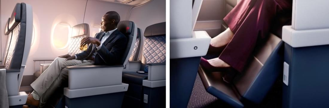 New Delta Premium Select cabin A350