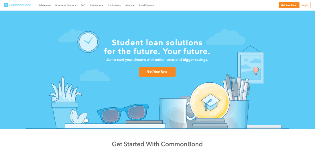CommonBond have been hard at work transforming the student loan industry and helping improve people's financial well-being