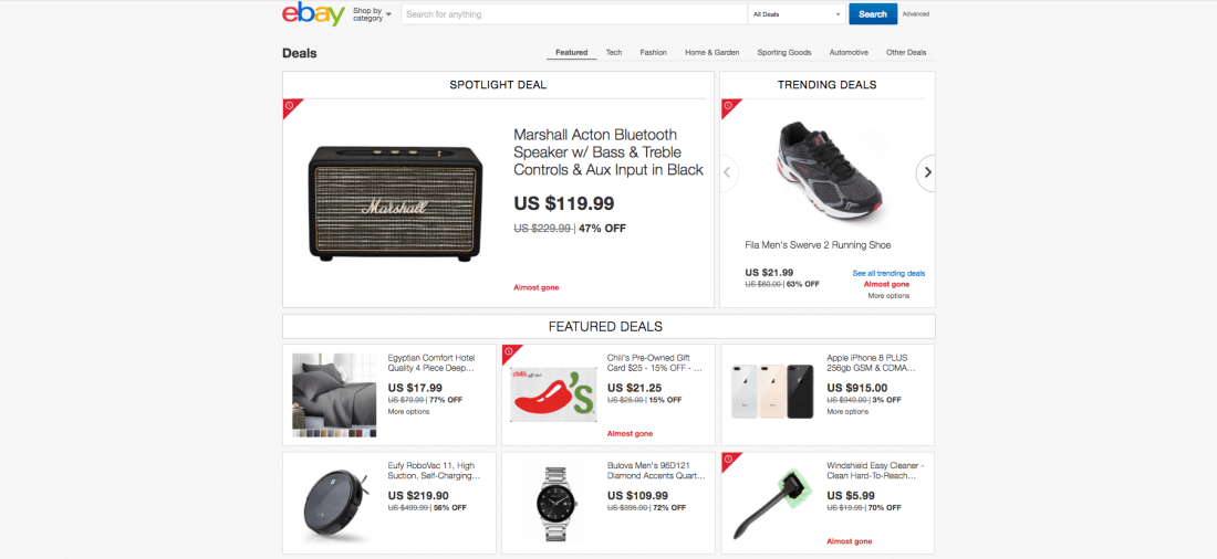 eBay has launched a Don't Wait for Black Friday campaign to help people looking for deals avoid brick-and-mortar stores