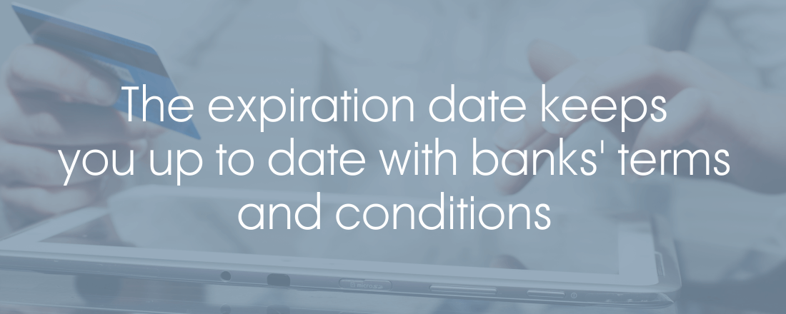 expiration date banks terms