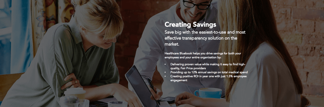 Healthcare Bluebook drives healthcare savings for your employees and your organization