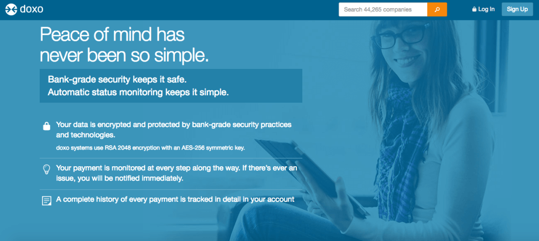 doxo is the simple, secure way to pay your bills