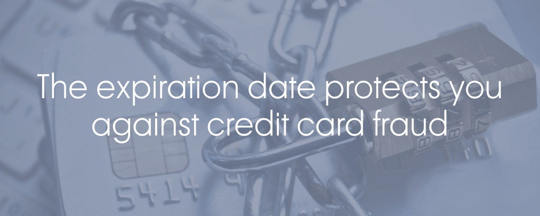 Expiration date credit card fraud