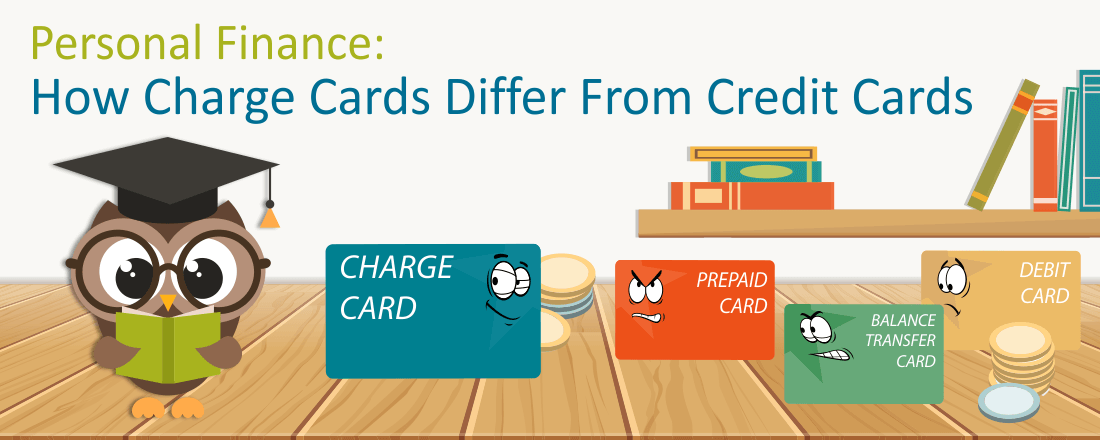 charge card vs credit cards