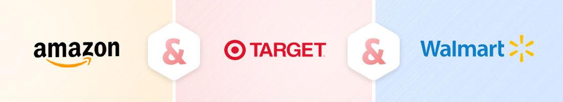 shows amazon target and walmart