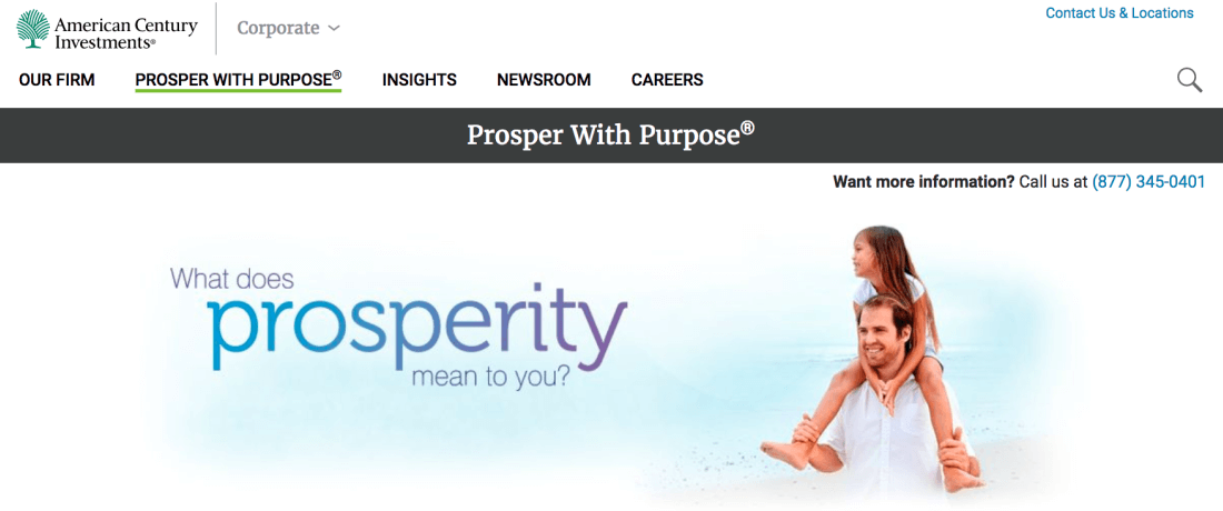 What does prosperity mean to you?