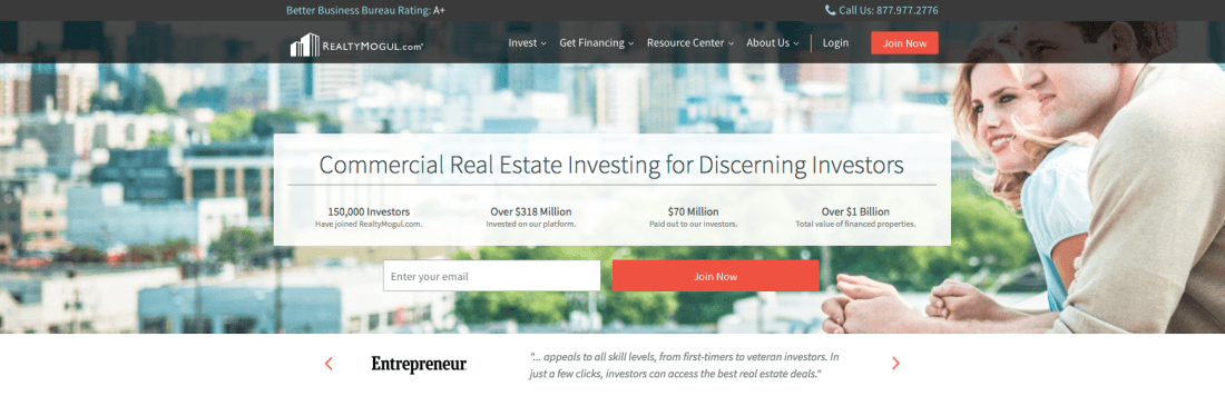 Diversity your investment portfolio with RealtyMogul's REITs