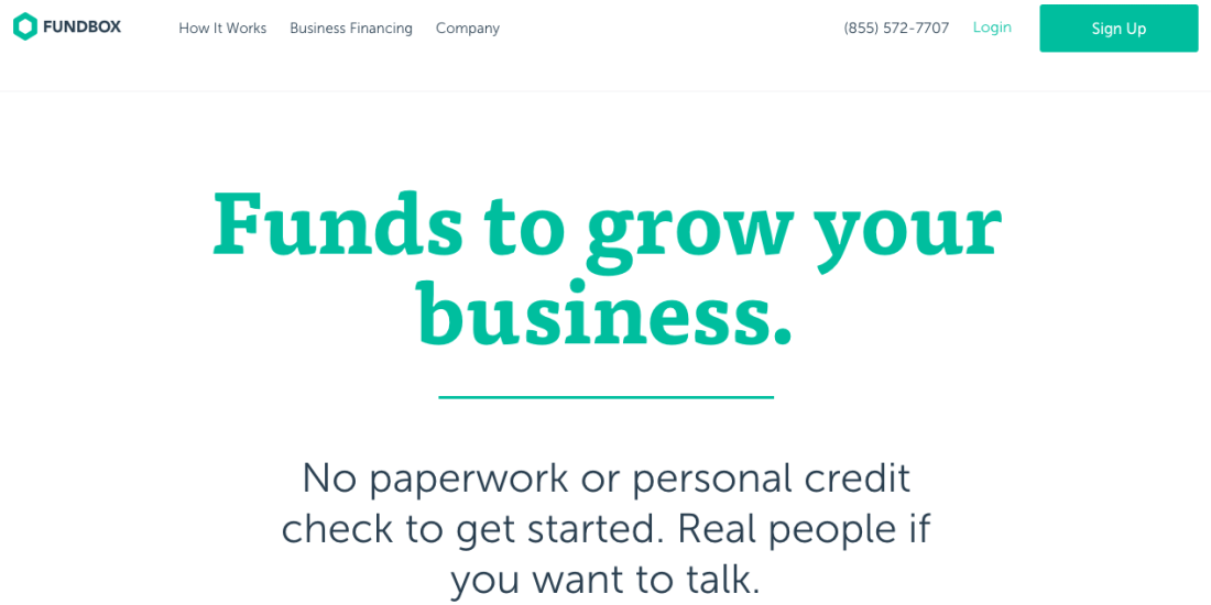 Small businesses struggling with unpaid invoices can use Fundbox for short-term financing to enable continued growth