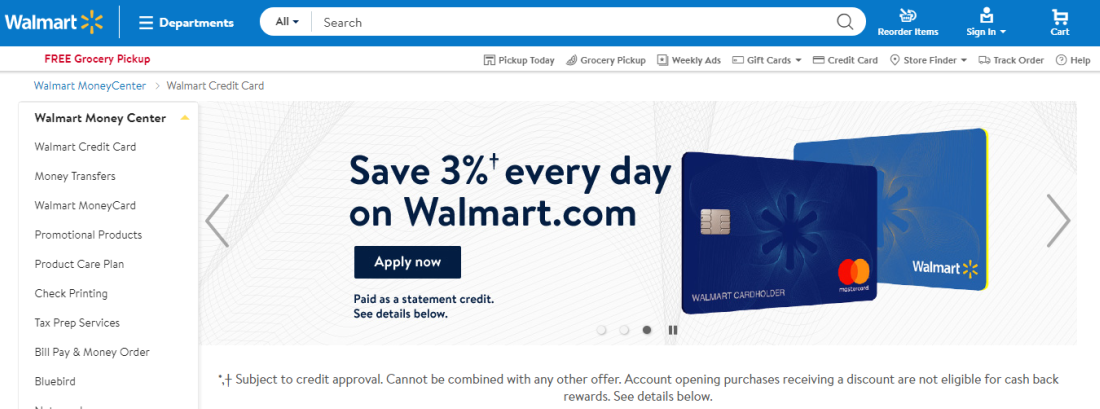 Murphy Visa Card >> Why Getting Walmart Credit Card Is A Bad Idea Read Before You Apply