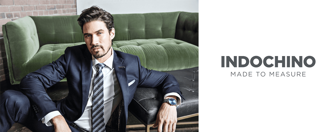 Luxury men's wear from Indochino company