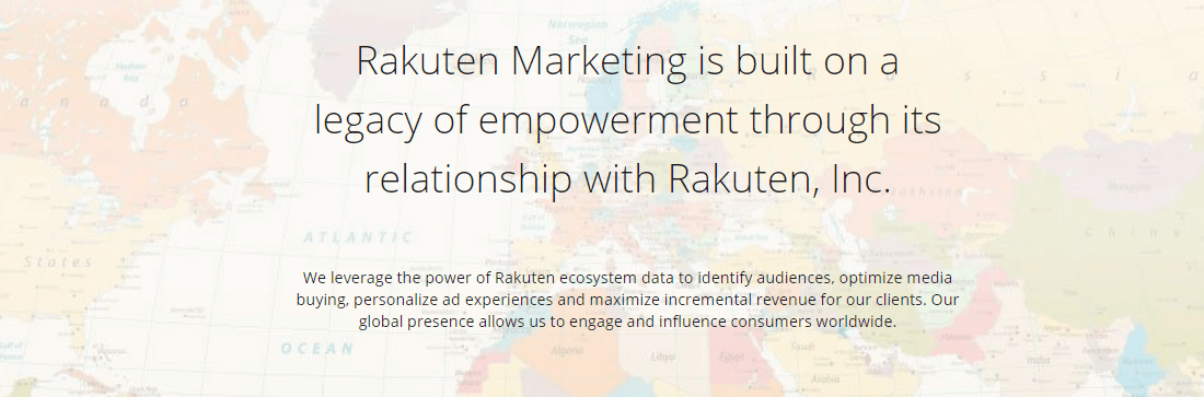 Rakuten Marketing offers its services to the World