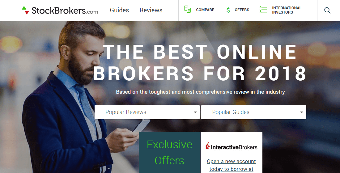 Stokebroker is the best online brokers company for 2018