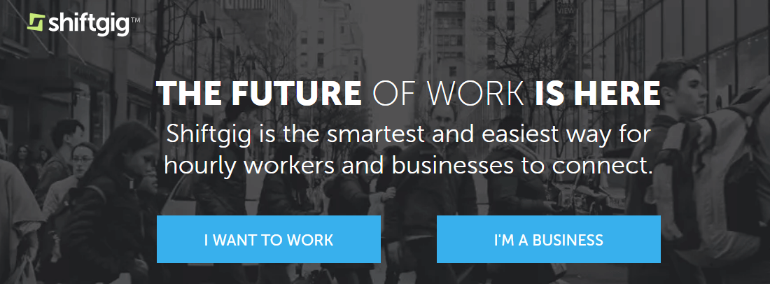 The future of work is with shiftgig
