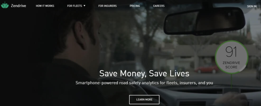 Save money and people lives with ZenDrive App