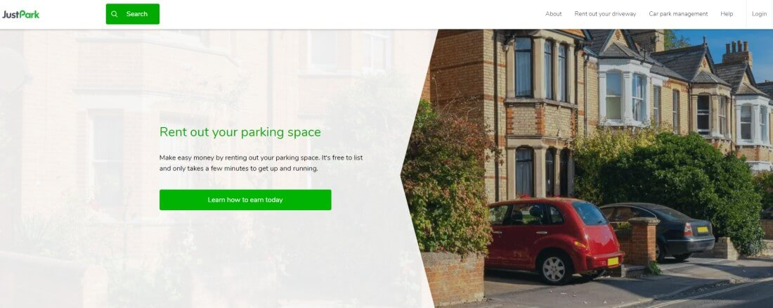 JustPark App is unlocking revenue for property owners