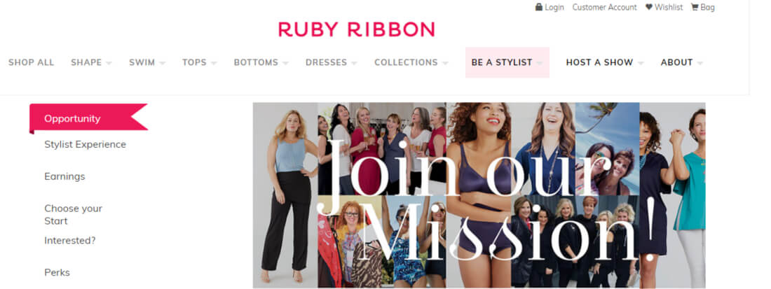 Join the family of Ruby Ribbon