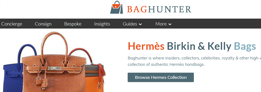 The Hermes Collection of Bags