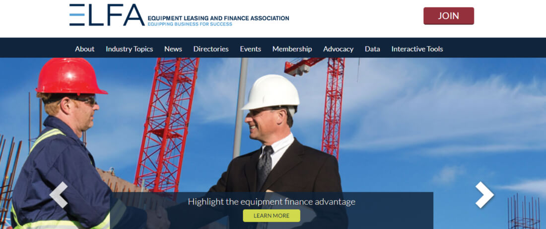 Benefits of financing from ELFA