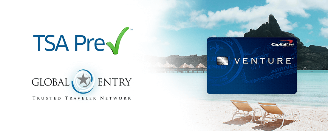 Capital One Adds Global Entry/TSA PreCheck to Venture Card