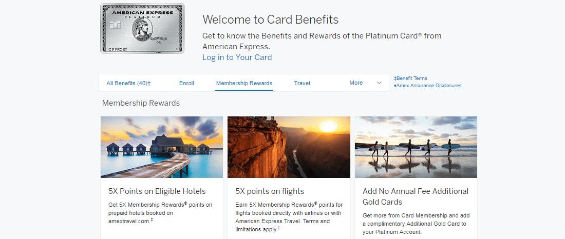 Amex Platinum Benefits 2018 500 In Credits 2 000 Bonus