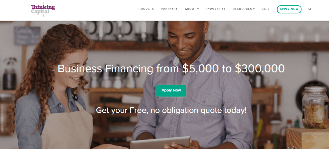 Get your smart business financing with Thinking Capital