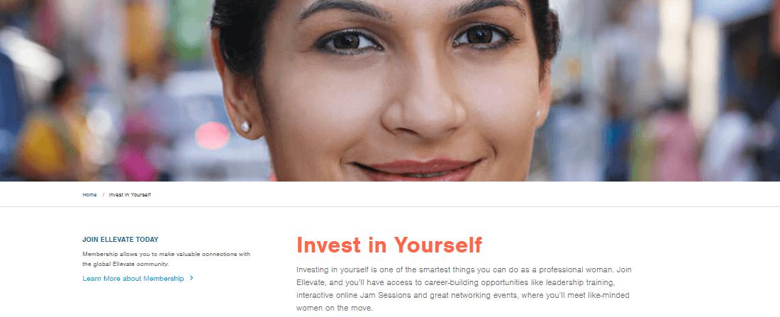 Invest in future with ellevatenetwork.com
