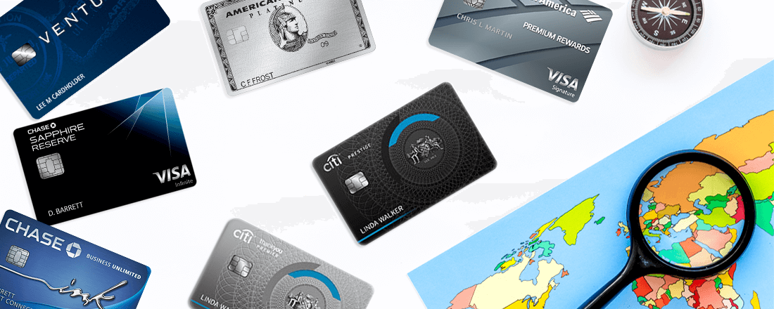 seven best credit cards for international travel