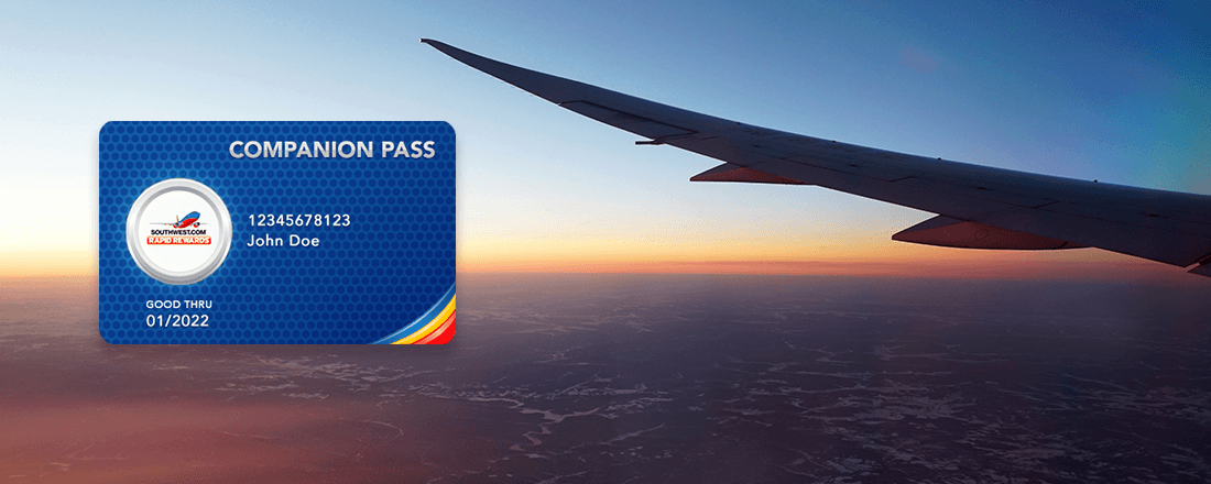 The Southwest Companion Pass: Unlimited Buy One, Get One Free