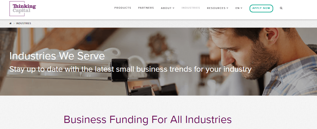 Supporting all types of small businesess with smart financing