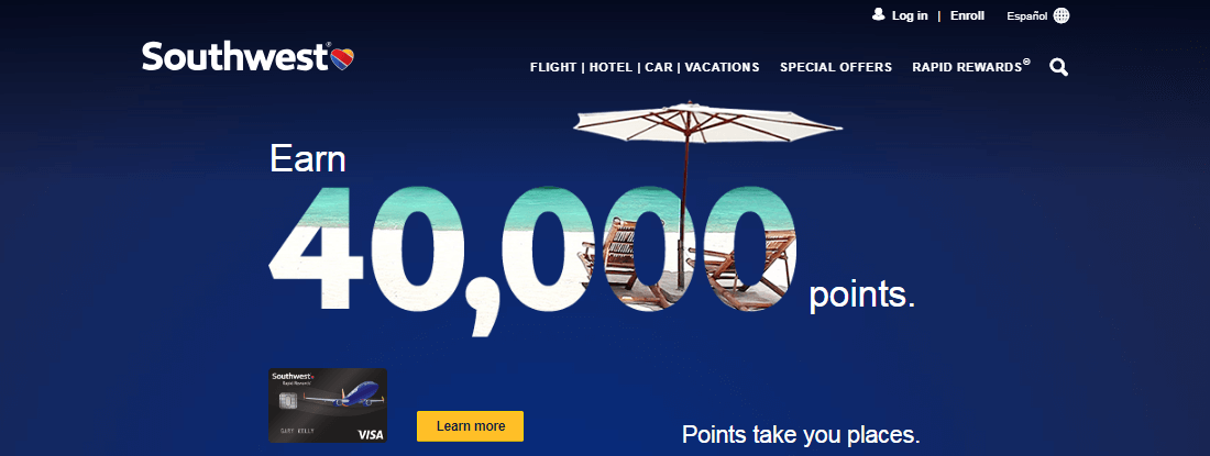 4000 southwest bonus offer from southwest