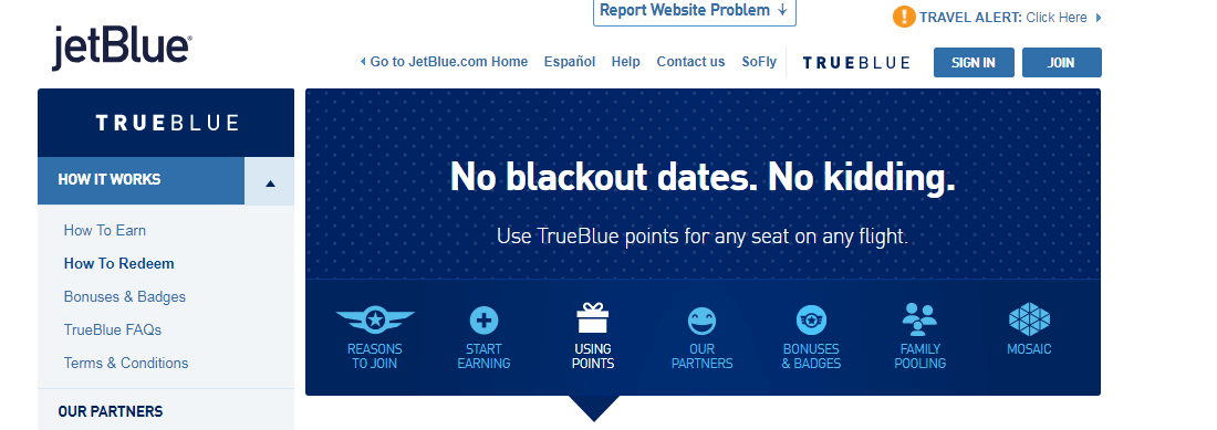 Where Can You Fly With JetBlue TrueBlue Points