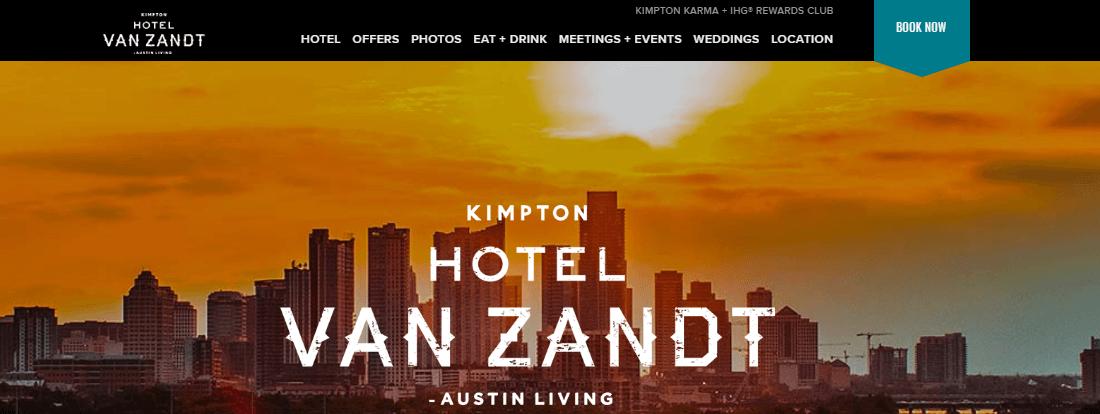 Why Hotel Van Zandt ?