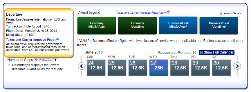 Which Flights Qualify for the AA Reduced Mileage Awards?