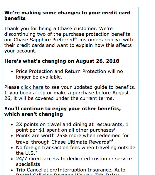 Chase is applying some new rules of using their credit cards