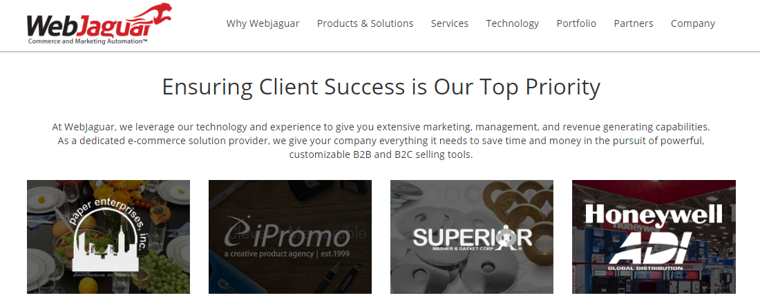 Ensuring Client Success is Our Top Priority