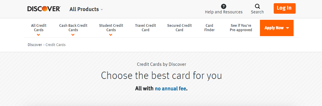 Apply for Discover It credit Card