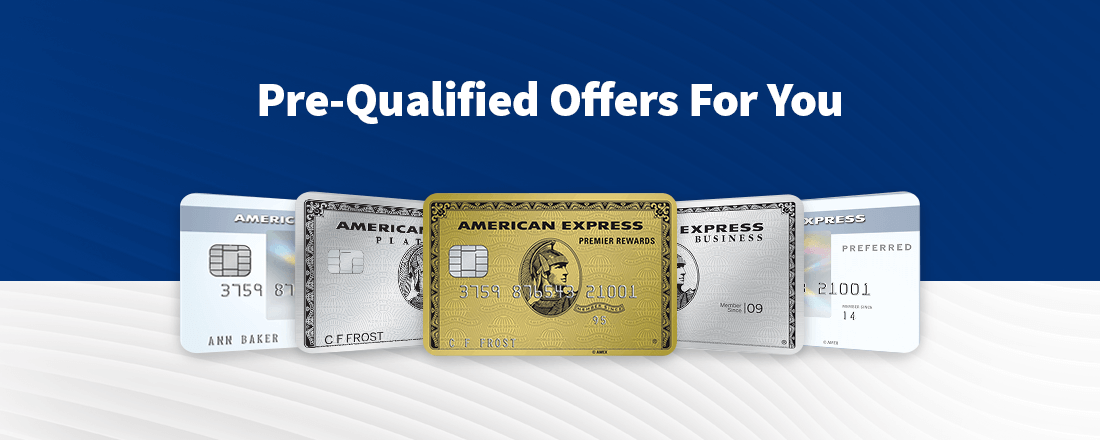 How to prequalify for an Amex Card