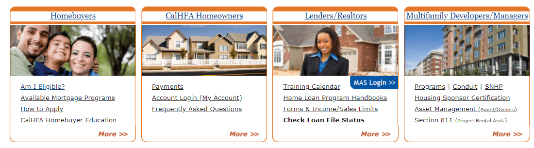 Program Requirements for Down Payment Assistance