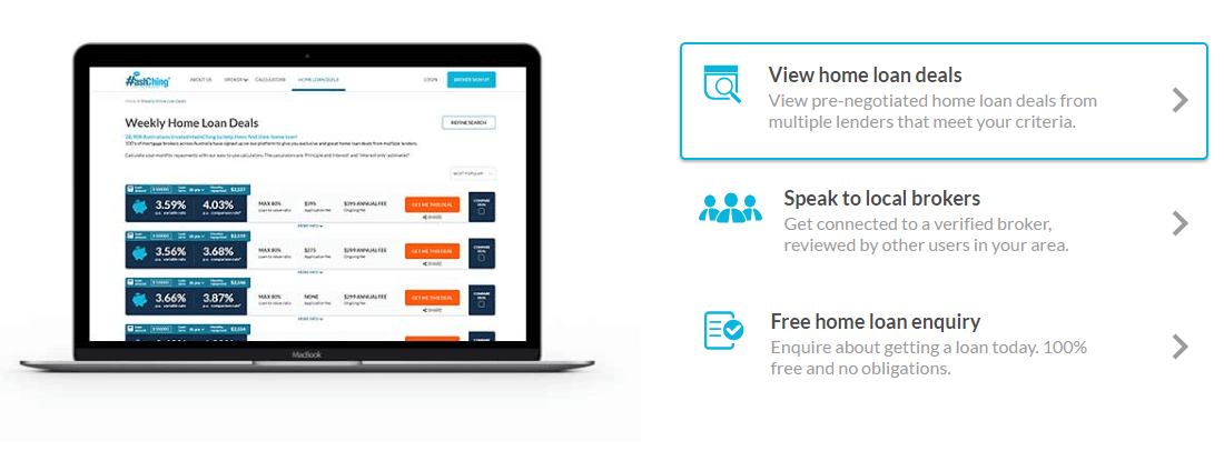 Australia's first online marketplace for home loans