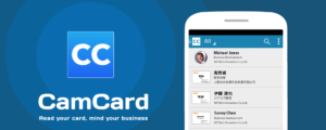 Cam Card App for Business Cards