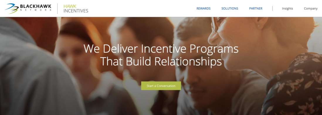 Text: We Deliver Incentive Programs That Build Relationships