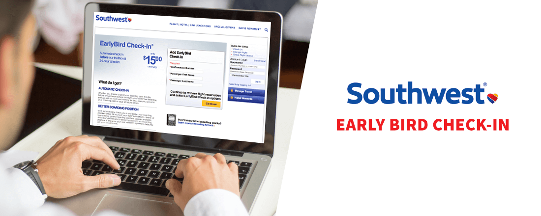 Southwest Early Bird Check-In