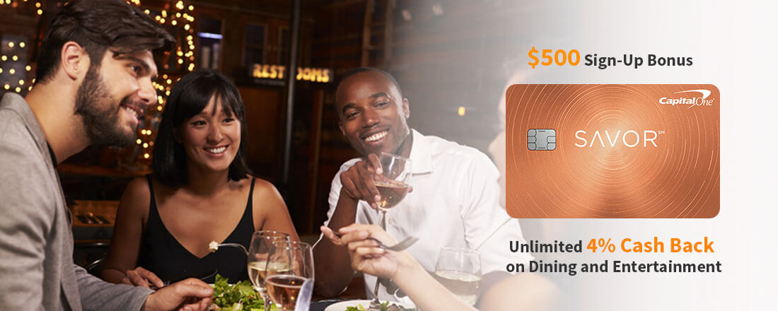 Capital One Savor Credit Card – The Best Cash Back For Dining & Entertainment