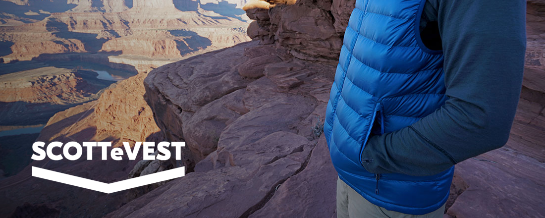 SCOTTeVEST's Patented Pockets Take the Hassle Out of Travel