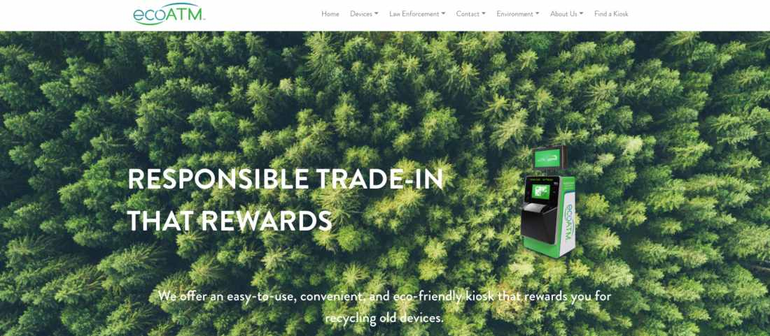 ecoATM - eco-friendly kiosks