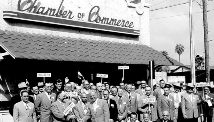 Historical image of chamber of commerce