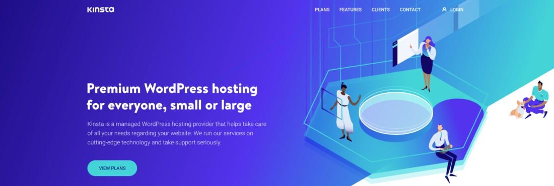 Premium WordPress hosting for everyone, small or large
