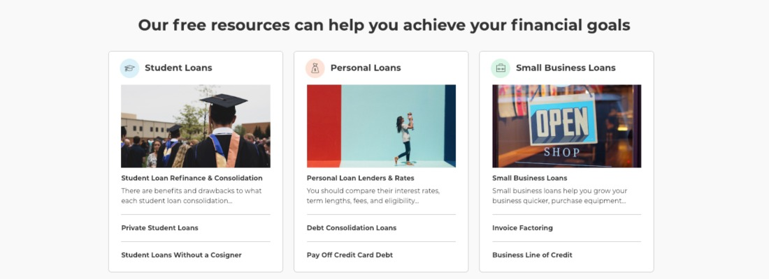 LendEDU: Our free resources can help you achieve your financial goals